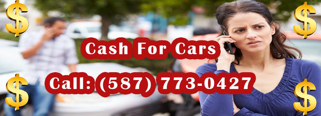 Cash For Cars Edmonton Banner